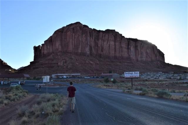 2Gouldings Lodge, Monument Valley, kvällspromenad 14